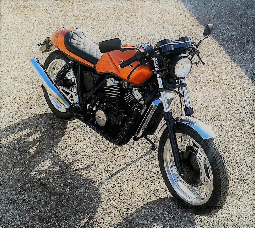 VT 500 café-racer ... Scrambler (des idées de transformation) Choquette5