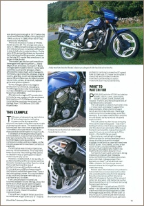 1990 HONDA VT500E ROAD TEST PAGE 2