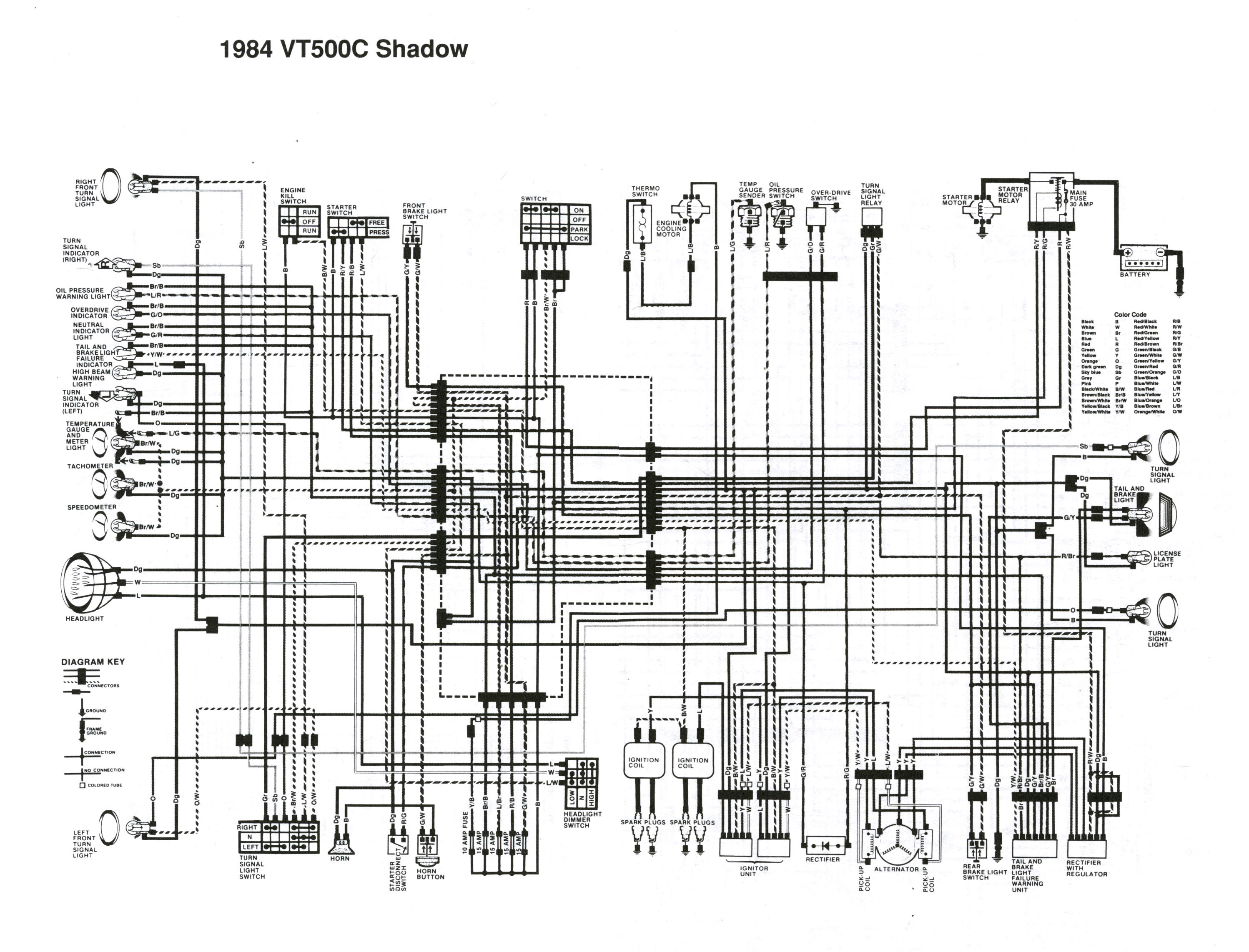Vt700c Circuit Diagram Schema Wiring Diagrams Straight Cool Vt700 Blogs Line 1985 Honda